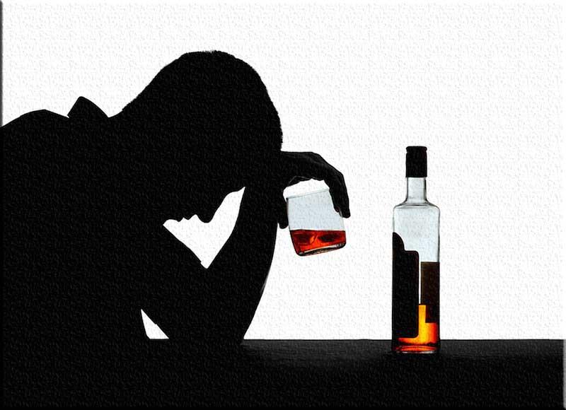 ادمان شرب الكحول
