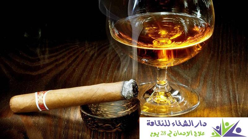 هل تناول الكحول أو الخمر يسبب الادمان