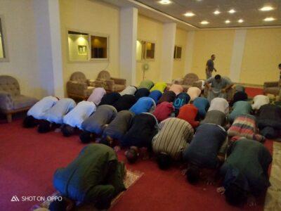 إقامة الصلاة في مستشفى علاج الإدمان